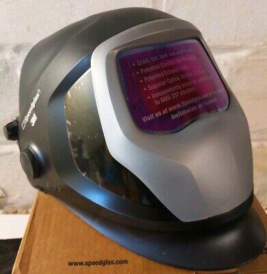 3m Speedglas Welding Helmet 9100x Auto-darkening Filter 06-0100-20hasw Hard Band