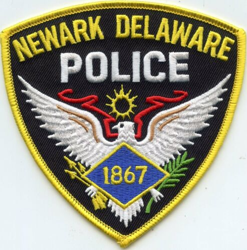 NEWARK DELAWARE DE POLICE PATCH