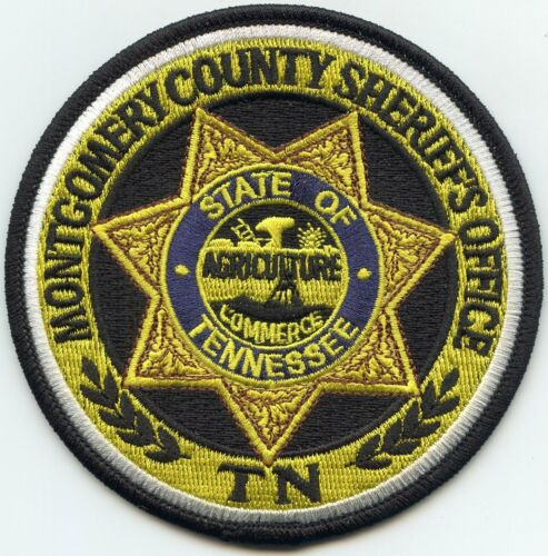 MONTGOMERY COUNTY TENNESSEE TN State Seal SHERIFF POLICE PATCH