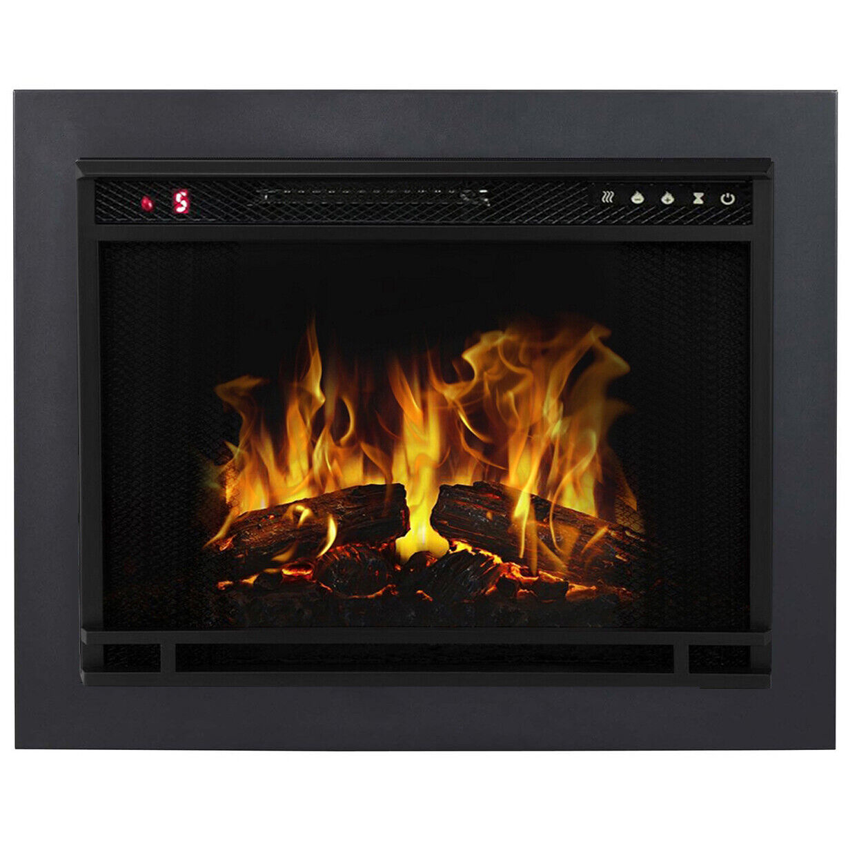 """Regal Flame 28"""" Ventless Heater Electric Fireplace Insert Tr"""