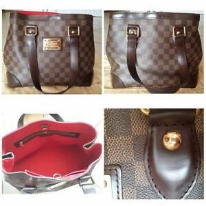 **Excellent Cond.** Louis Vuitton Damier Ebene Hampstead PM Bag. Quakers Hill Blacktown Area Preview