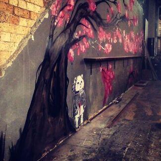 Professional graffiti/mural artist for hire  Brisbane City Brisbane North West Preview