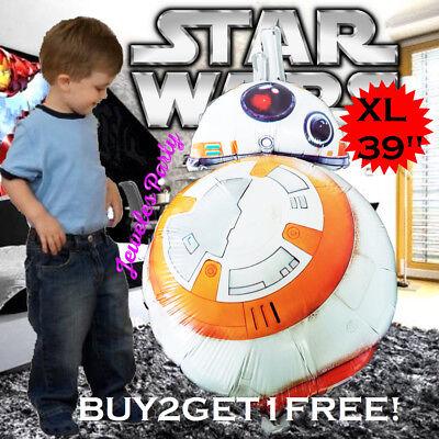 STAR WARS BB8 Birthday Party Balloon Balloons Supplies Decoration R2D2 DARTH - Star Wars Birthday Decorations