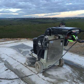Concrete grinding and polishing Launceston