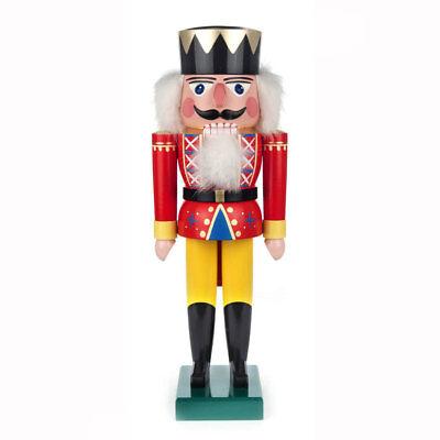 Traditional Red King German Nutcracker NCD022X020R