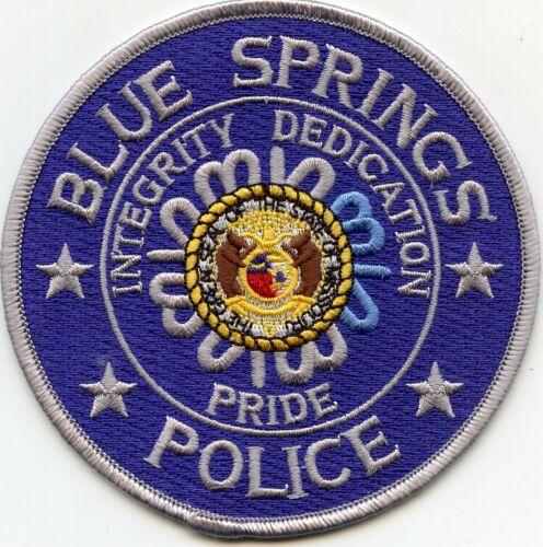 BLUE SPRINGS MISSOURI MO Integrity Dedication Pride POLICE PATCH