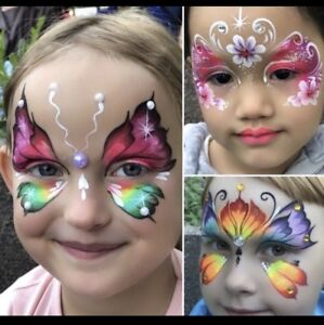 Halloween Face Painting Balloons Twisting And Henna Tattoos Bands