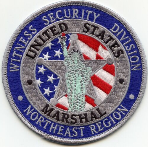 UNITED STATES MARSHAL NORTHEAST REGION WITNESS SECURITY Colorful POLICE PATCH
