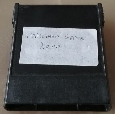 COLECOVISION Happy Halloween '01 Bienvenu Homebrew Prototype Game Cartridge Demo - Happy Halloween Gaming