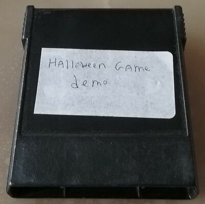 COLECOVISION Happy Halloween '01 Bienvenu Homebrew Prototype Game Cartridge Demo (Happy Halloween Gaming)