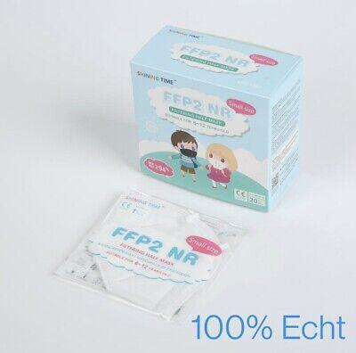 20x FFP2 Kindermasken-CE 0370 - Atemschutzmasken 5 lagig zertifiziert 94%