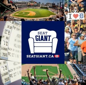 DETROIT TIGERS TICKETS THIS WEEK FROM JUST $10 CAD!!!