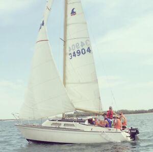 1973 Paceship Sailboat PY23