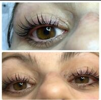 Christmas Promotion ! $30 lash lift and tint !