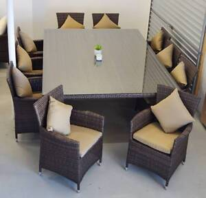 RIMINI OUTDOOR DINING SET - 11 PIECES (WAS $3499) O'Connor Fremantle Area Preview