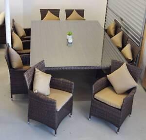 RIMINI 11PCE OUTDOOR DINING SET (WAS $2999) Hilton Fremantle Area Preview
