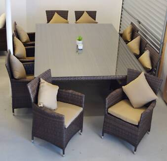 RIMINI 11 PIECE OUTDOOR DINING SET (WAS $3999) O'Connor Fremantle Area Preview