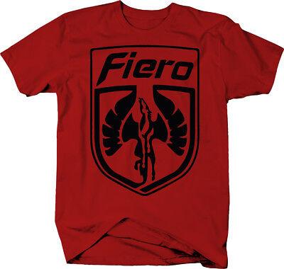 Pontiac Fiero Wings Racing Retro  Color T-Shirt