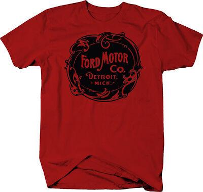 Ford Motor Co Detroit Michigan 1920's Badging Vintage Design  Color T-Shirt](1920s Mens Clothes)