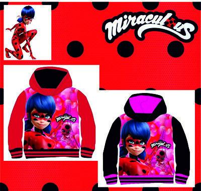 Kinder Sweatshirt Mit Kapuze (Miraculous Ladybug Sweatshirt T-Shirt Kapuze mit Kaputze Hoodie Kinder )