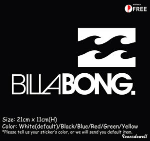 BILLABONG LOGO car graphic sticker decals Vinyl Best Present Gift-