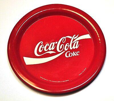 Coca-Cola Metall Untersetzer Coaster sous-bock Coke rot Ø 9 cm