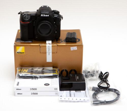 Nikon D500 20.9 MP Digital SLR Camera dSLR -- USA MODEL