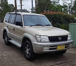 1999 TOYOTA PRADO GLX 4WD LANDCRUISER / 7 SEATER / AUTO Rathmines Lake Macquarie Area Preview