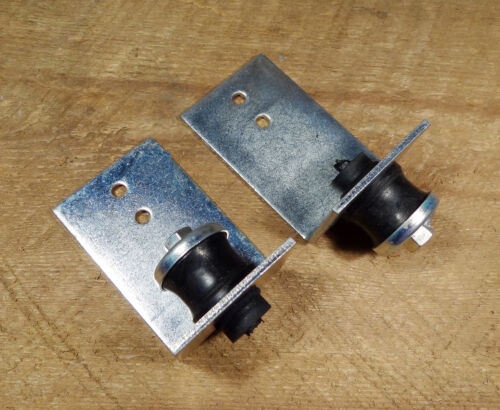 2 New Anti Vibration Isolation Rubber L Brackets Hanger Furnace Ductwork 1/4-20
