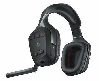Logitech Wireless Gaming Headset G930 Kophörer Funk + Ladestation OHNE USB Stick Wireless Usb Gaming Headset