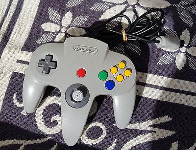 Original Controller Game Pad Nintendo 64 N64 Grau. Stick ist stark ausgeleiert, gebraucht gebraucht kaufen  Lübeck