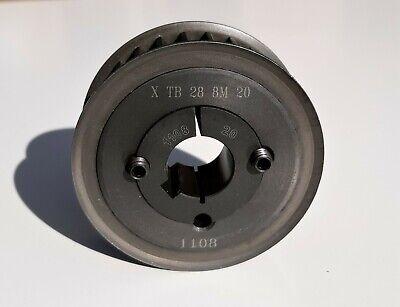 Omega Optibelt Tb-28-8m-20 Zrs Htd Timing Pulley W 1108 20mm Taper-lock Bushing