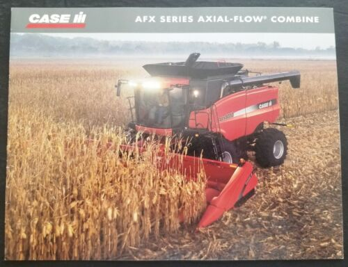 Case - IH AFX Series Axial Flow Combine Dealer Sales Brochure