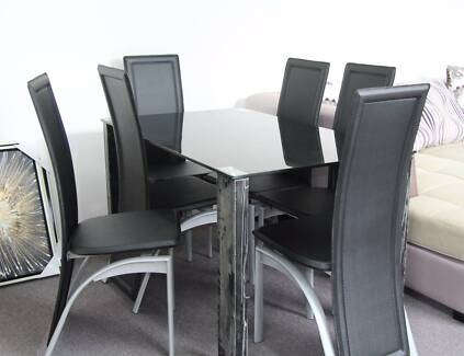 7 Pcs Dining Table Brand New Only For 499