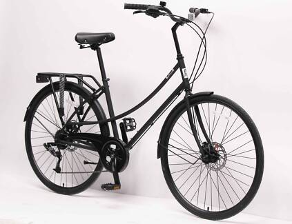 Chomeley Vintage Black Bike (less than 6 months old)