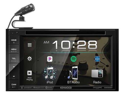 "Kenwood DDX26BT 6.2"" DVD Monitor Bluetooth Receiver USB/Android/iPhone/Sirius XM"
