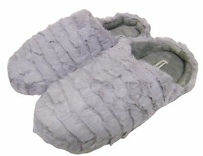 Slip on some fluffy slippers for some home comfort