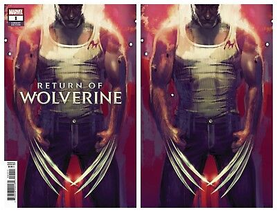 RETURN OF WOLVERINE 5 ADI GRANOV VIRGIN CSA VARIANT ONLY 1000 PRINTED NM