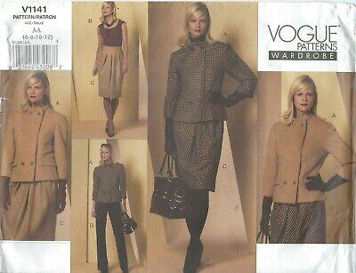 Vogue 1141 Misses' Jacket, Top, Skirt and Pants 6, 8, 10, 12  Sewing Pattern  Jacket Top Skirt Pants