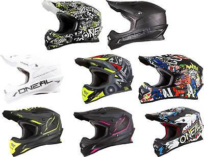 O'Neal 3 Series Helmet - MX Motocross Off-Road Dirt Bike ATV Mens Womens Adult