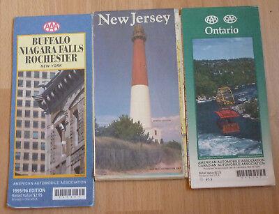 Alte Landkarten Ontario,New Jersey, Buffalo-Niagara Fälle-Rocheste s. Scan (179)
