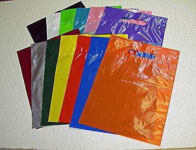 Premium Glossy Low-density Plastic Merchandise Bags U Pick Qtycolorsize