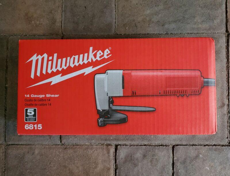 Milwaukee 6815 14 Gauge Shear 5amp 4000 SPM - IN STOCK