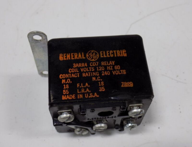 GENERAL ELECTRIC RELAY COIL  3ARR4 CD7 *WKS*