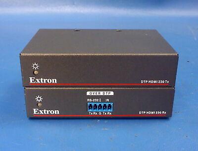Extron DTP HDMI 230 Tx & Rx Video Over DTP Twisted Pair Set