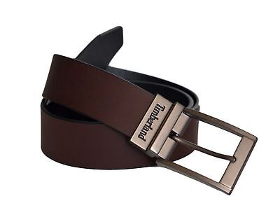 - Timberland Classic Jean Reversible Men's  Genuine Leather Belt Brown-Black