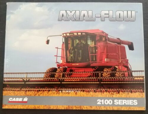 Case - IH 2100 Series Axial Flow Combine Dealer Sales Brochure