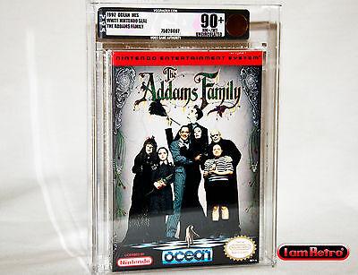Addams Ancestors Values Nintendo NES Brand New Factory Sealed VGA U90+ Gold Mint