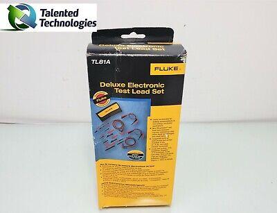 Fluke Tl81a Deluxe Electronic Test Lead Set New