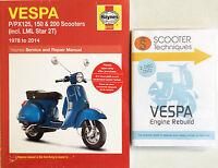 Vespa P/px/t5 Lml Star 125, 150 & 200 With The Vespa Engine Rebuild Dvd - engin - ebay.co.uk